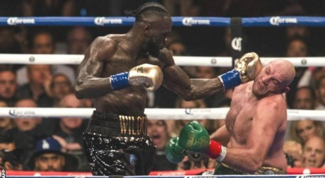 Tyson Fury will be worried by first-fight knockdowns-Deontay Wilder