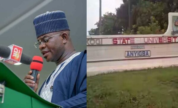 Reaction As Governor Suspends Kogi University VC and rector