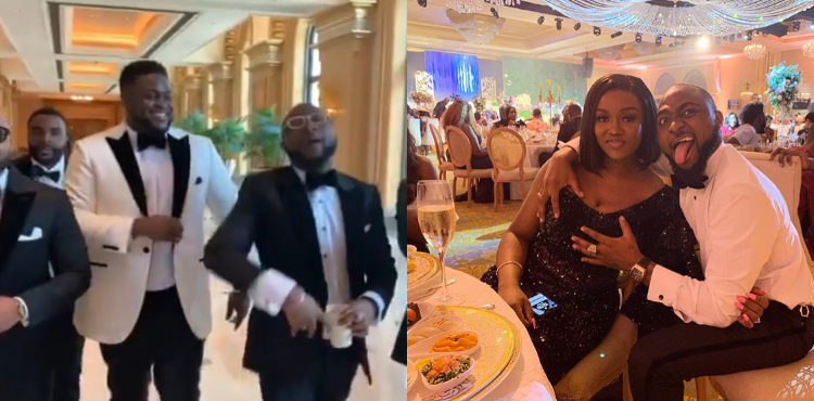 ETINOSA IDEMUDIA'S REACTION TO DAVIDO,HOLDING CHIOMA'S BOSOM WAS PROBABLY MISREAD....wazobianigeria
