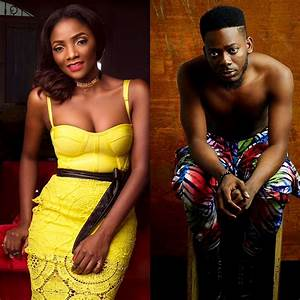 ADEKUNLE GOLD IS OBVIOUSLY SIMI'S NUMBER ONE FAN AND MOTIVATOR